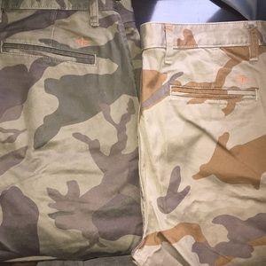 Dockers camouflage pants bundle